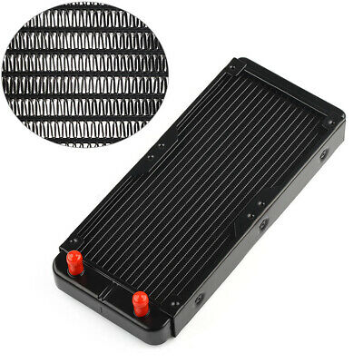 1Pc 240mm Aluminum Computer Radiator Water Cooling Cooler for CPU LED Heatsink