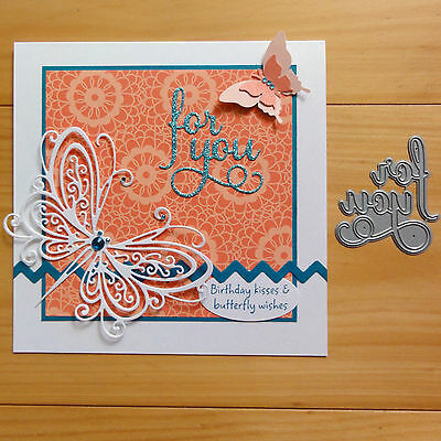 IMPRESSION OBSESSION FOR YOU Sentiment Cutting Die - BNIP