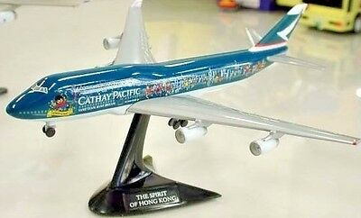 Herpa 1:500 Cathay Pacific B747-400 Millennium Edition airplane diecast model