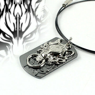 Hot Final Fantasy Cloud Strife Wolf Necklace Pendant Cute Ornaments Gift