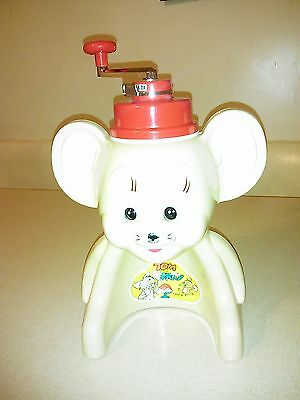 Vintage Tom and Jerry Ice Shaver Icee Machine, Japan Toy, Tiger  MGM RARE