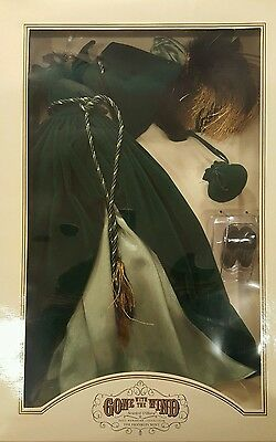 Gone With The Wind Scarlett Ohara Green Drapery Dress Franklin Mint Nrfb