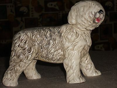 OLD ENGLISH SHEEPDOG ceramic Figurine