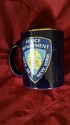 New York City Police Department Coffee Cup