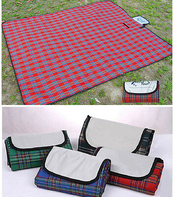 Impermeabile Beach Camp g Picnic escursionismo Plaid Blanket Mat Tappeto
