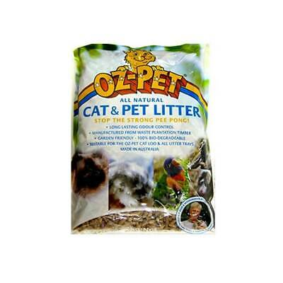 Oz Pet Animal Litter Natural Cat Litter - Sizes 2kg & 5kg