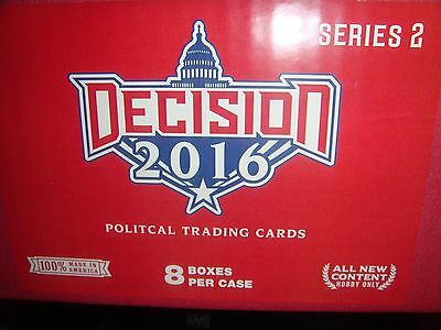 2016 Decision Series 2 Hobby 8 Boxes in a Sealed Case LOADED EXTREMELY LIMITED