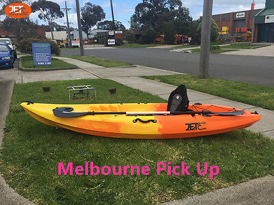 Jetocean 2.95M Single Seater Sit-on Fishing Kayak with Paddle and Seat