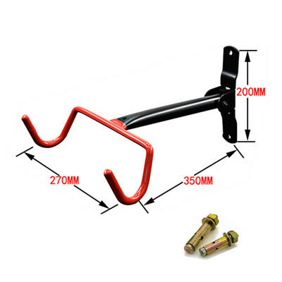 Heavy Duty Large Bicycle Storage Rack Wall Mounted Bike Foldable Hanger Hook