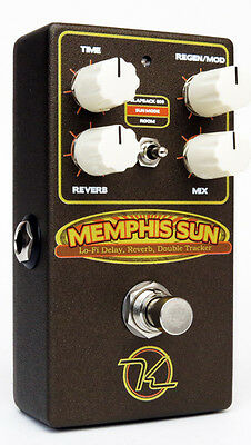 NEW Robert Keeley Electronics Memphis Sun –Lo-Fi Reverb, Echo and Double-Tracker