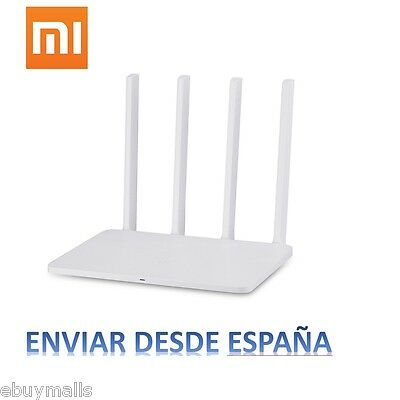 Router WiFi Original Xiaomi Mi 3 WIRELESS 1167Mbps 2.4/5GHz 128MB Android IOS ES