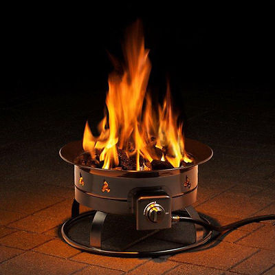 Garden Outdoor Gas Fire Pit Patio Heating Fireplace Courtyard Heater Firepit