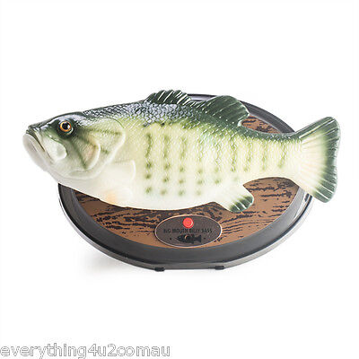 Big Mouth Billy Bass The Singing Sensation - Wall Mounted Fish Novelty Gift