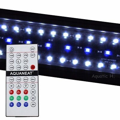 "LED Aquarium Light  RGB Remote Control HI LUMEN  12""-72"" Planted +24/7 Automated"