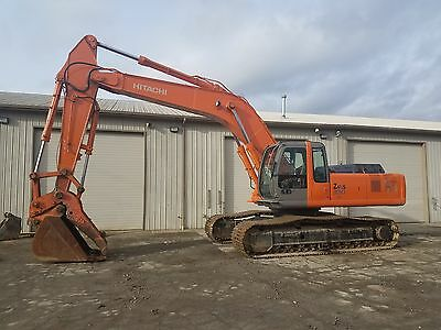 2005 Hitachi ZX330LC ZAXIS Excavator with thumb & low org hours