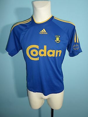 Adidas Brondby 2006/2008 away shirt jersey trikot football size Boys XL - ? #516