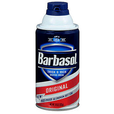 Barbasol Beard Buster Shaving Cream Original 10 oz