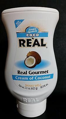 COCO REAL CREAM OF COCONUT REAL GOURMET SQUEEZABLE 22 oz