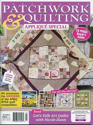Australian Patchwork and Quilting Vol 24 No 9