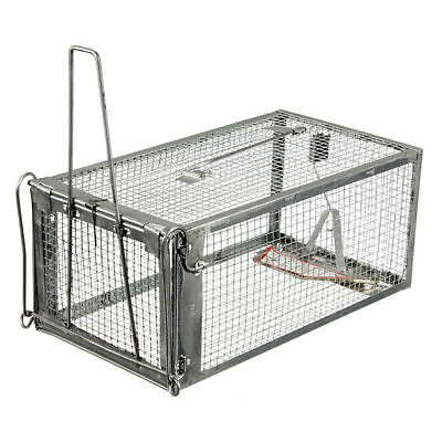 Rodent Animal Mouse Mice Rat Humane Live Trap Control Catch Bait Hamster Cage SH