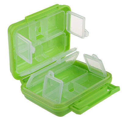 1 PC Portable 8 Cells Pocket Pill Medicine Box Storage Case Organizer pill boxes
