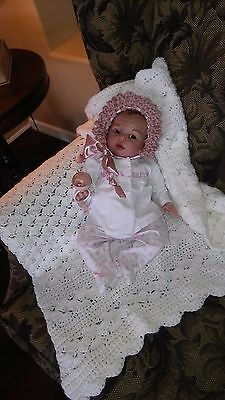 Reborn newborn baby girl Gracie ooak Baby art doll Bountiful Baby