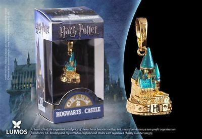Harry Potter : HOGWARTS GOLD CASTLE LUMOS CHARM From The Noble Collection NOB103