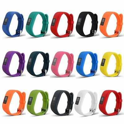 Silicone Replacement Wristband Wrist Strap Band For Garmin Vivofit 3 Bracelet UU