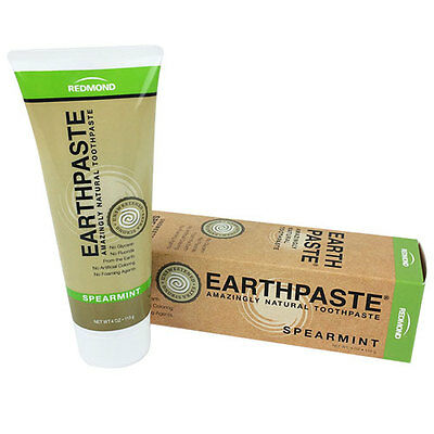 Earthpaste Toothpaste Spearmint 4 oz