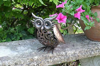 Smart Solar Silhouette Scroll Light Garden Decorations - Cat or Dog or Owl