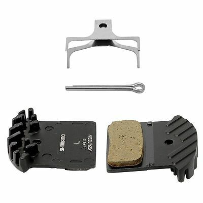 Shimano J02A as F01A Resin Cooling Fin IceTech Disc Brake Pads XT XTR Deore SLX