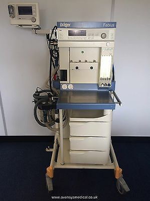 Drager Fabius CE Anaesthetic Machine (Fully functional with Warranty)