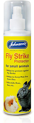 Johnsons Fly Strike Protector For Small Animals Rabbit Guinea Pig 150Ml