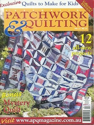 Australian Patchwork and Quilting magazine Vol 11 No 12