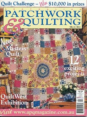 Australian Patchwork and Quilting magazine Vol 11 No 4