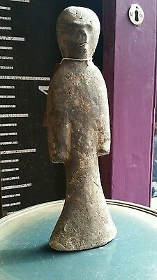 Rare genuine ancient chinese teracotta burial figure antiquity han dynasty 200AD