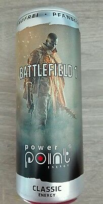 1 Energy Drink Dose Power Point Battlefield 1 Kino Film Full Voll Can PC WOW