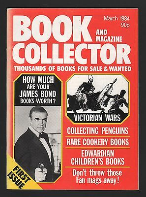 Book And Magazine Collector  First Issue  March 1984