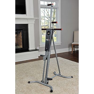 MaxiClimber Health Body Cardio Fitness Vertical Climber Workout Exercise Machine