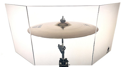 """New!!!!!  Drum Shield / Cymbal Shield For Cymbals Up To 24"""""""