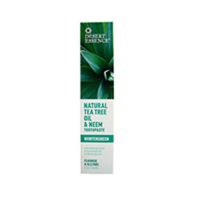 Natural Tea Tree Oil and Neem Toothpaste 6.25 OZ