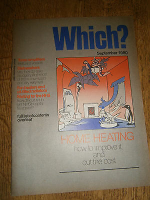 Vintage Which? Magazine  September 1980 Tuners/ Amplifiers