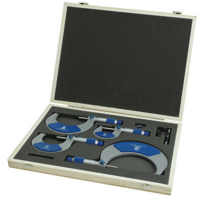 Moore & Wright 0-100mm Metric External Outside Micrometer Set - 215 Series Mic
