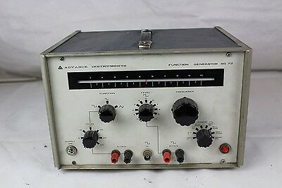 Advance Instruments Function Generator SG 72