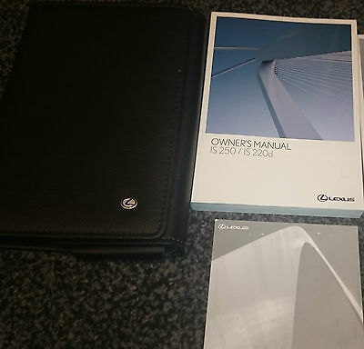 Lexus Is250/is220D Owners Manual 07/08