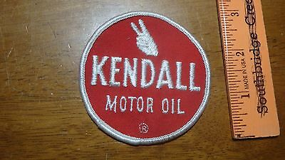 Vintage Kendall Oil Motor Oil 1960's   Patch   Bx A #52