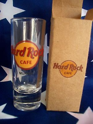 HRC Hard Rock Cafe Munich München New Logo Logo New Style Shot Glass Schnapsglas
