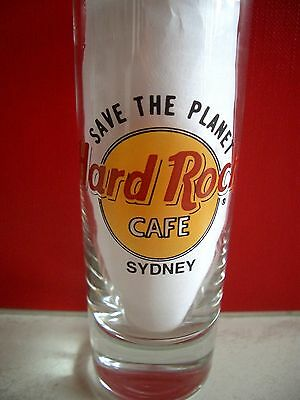 HRC Hard Rock Cafe Sydney STP Save The Planet Shotglass Schnapsglas