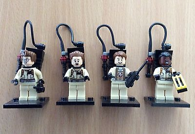4 Piece Ghostbusters  Mini Figures Minifigs Fit with Lego UK minifigures