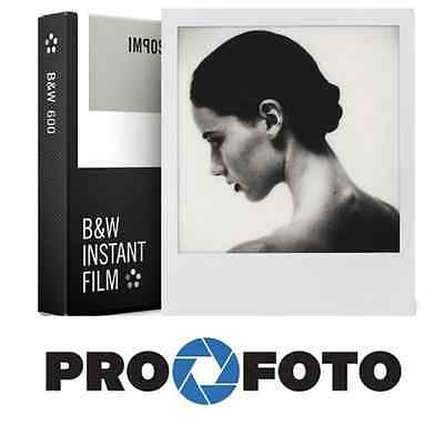 Impossible Project 600 B & W Instant Film White Frame Polaroid 8 Photo